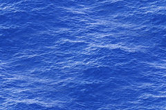 Calm Sea Water Surface as Seamless Pattern Stock Image