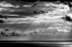 Calm seas. Taken near Kona, Hawaii Stock Photos