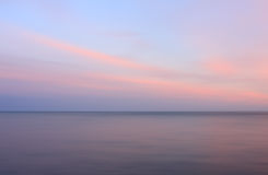 Calm seascape Royalty Free Stock Photography