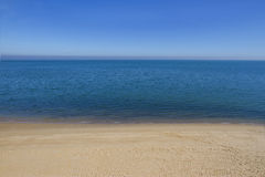 Calm seascape. With a copy space Stock Photography