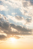 Calm sky scene. See my other works in portfolio stock photo