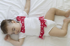 Calm sleeping baby Royalty Free Stock Photo