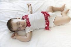Calm sleeping baby Stock Photography