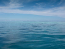 Calm South Pacific Ocean Stock Photography