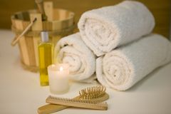 Calm spa Royalty Free Stock Images