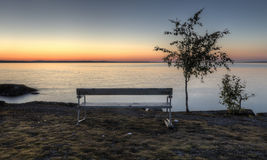 Calm summer evening in the Finland Royalty Free Stock Image