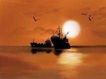 Calm, Sunrise, Sky, Sunset Royalty Free Stock Photos