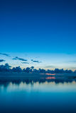 A calm sunrise Stock Photography