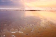 Calm sunset Stock Image