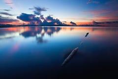 Calm sunset Stock Photo