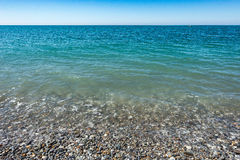 Calm surface of the sea Royalty Free Stock Image