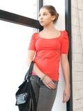Calm teenage girl Stock Photo