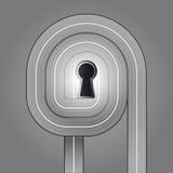 Calm trafffic key solution  Royalty Free Stock Image
