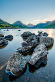 Calm Tranquil Morning At Wastwater In The Lake District. Royalty Free Stock Photography