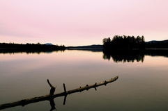 Calm Water in Fall Stock Photography