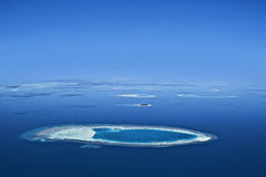 Calm Water Of The Maldives Royalty Free Stock Image