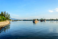 Calm water in the river. This was taken along the river of krabi thailand Stock Photo