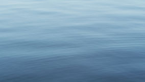 Calm water surface with gentle ripples appearing Royalty Free Stock Photography