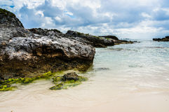 Calm Waters at the Beach Royalty Free Stock Images