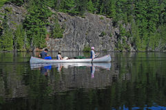 Calm waters in Canoe Country Stock Photos