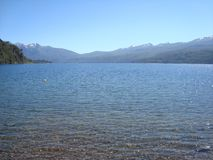 Beautiful and calm lake royalty free stock image