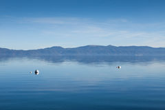 Calm waters of Lake Tahoe Stock Photography