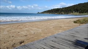 Calm Waters in Lorne stock video footage
