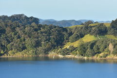 Calm waters of Mahurangi Harbour Royalty Free Stock Image