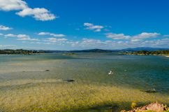 Calm waters of Mallacoota Lake Royalty Free Stock Image