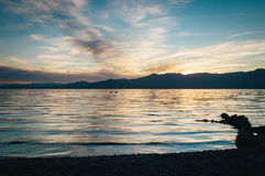 Calm Waters during Sunrise Royalty Free Stock Photo