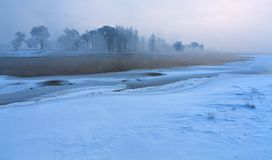 Calm winter landscape Royalty Free Stock Photography