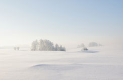Calm winter landscape Royalty Free Stock Photos