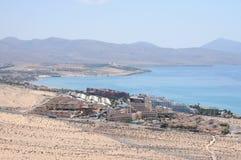 calma肋前缘费埃特文图拉岛西班牙 免版税库存照片