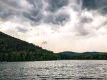 Calma antes da tempestade Fotos de Stock Royalty Free
