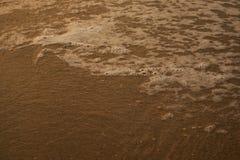Calma de la agua de mar Fotografía de archivo