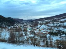 Calma do inverno Imagens de Stock Royalty Free