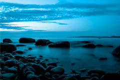 Calma do lago Vättern Imagens de Stock