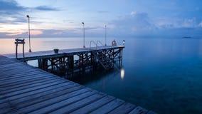 Calma do oceano Imagens de Stock Royalty Free