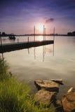 Calma e sereno Fotografia de Stock Royalty Free