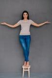 Calma ed equilibrio Fotografia Stock Libera da Diritti