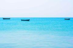 Calma en el océano Foto de archivo