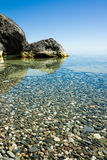 Calma no Mar Negro foto de stock royalty free