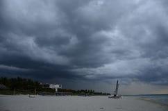 Calma prima della tempesta fotografie stock libere da diritti