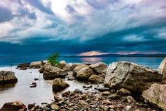 Calma prima della tempesta Fotografia Stock Libera da Diritti