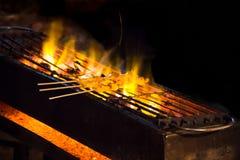 Calmar grillé Photo stock