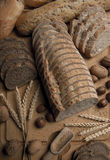 Calmas del pan: Variedad Fotografía de archivo