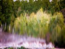 Calme Autumn Pond images libres de droits