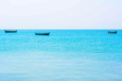 Calme dans l'océan photo stock