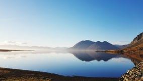 Calme de l'Islande ! photo libre de droits