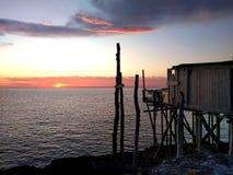 Calme de lever de soleil Photo stock